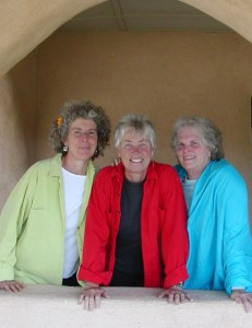 Elise Witt, Terry Garthwaite</br>and Becky Reardon