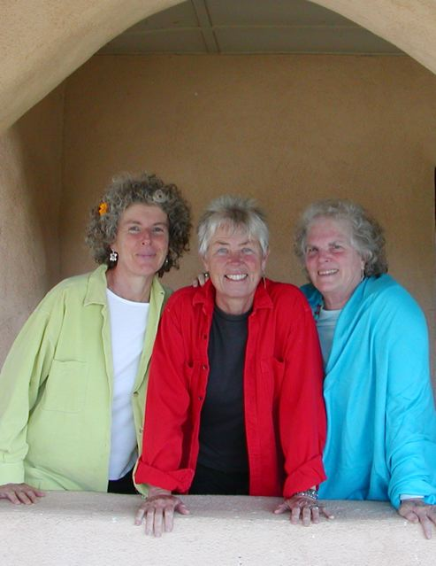 Elise Witt, Terry Garthwaite and Becky Reardon