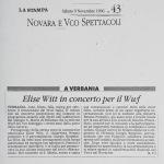 Novara E Vco Spettacoli