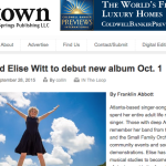 Atlanta INtown – Songbird Elise Witt to debut new album Oct. 1