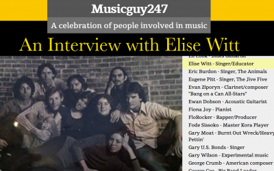 Musicguy247's Interview with Elise WittA celebration of people involved in music