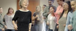 Elise Witt Leads a Singing Workshop