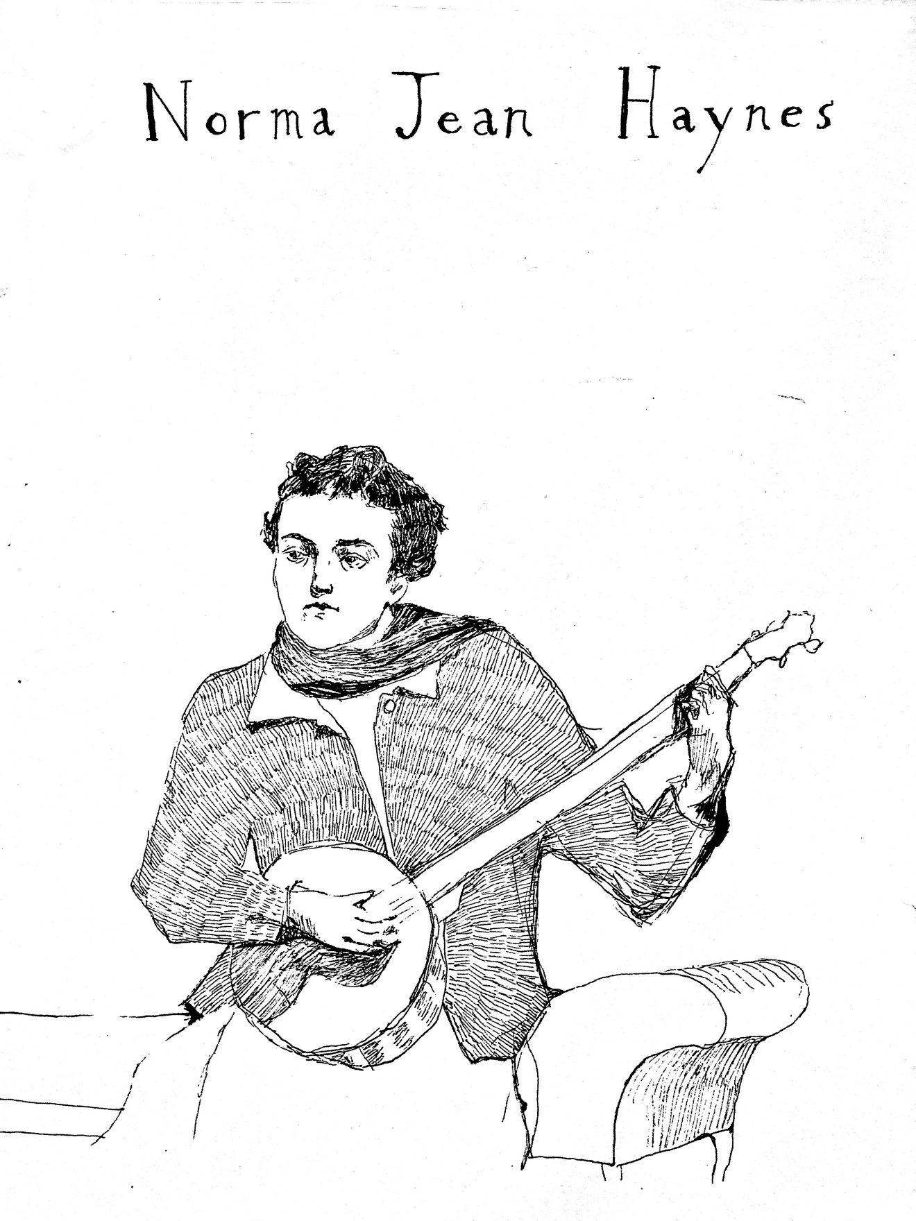 Norma Jean Haynes - sketch