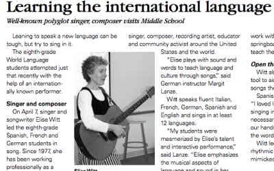 CARY ACADEMY | Learning the International Language of Song