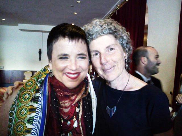 Eve Ensler & Elise @ Buckhead Theater