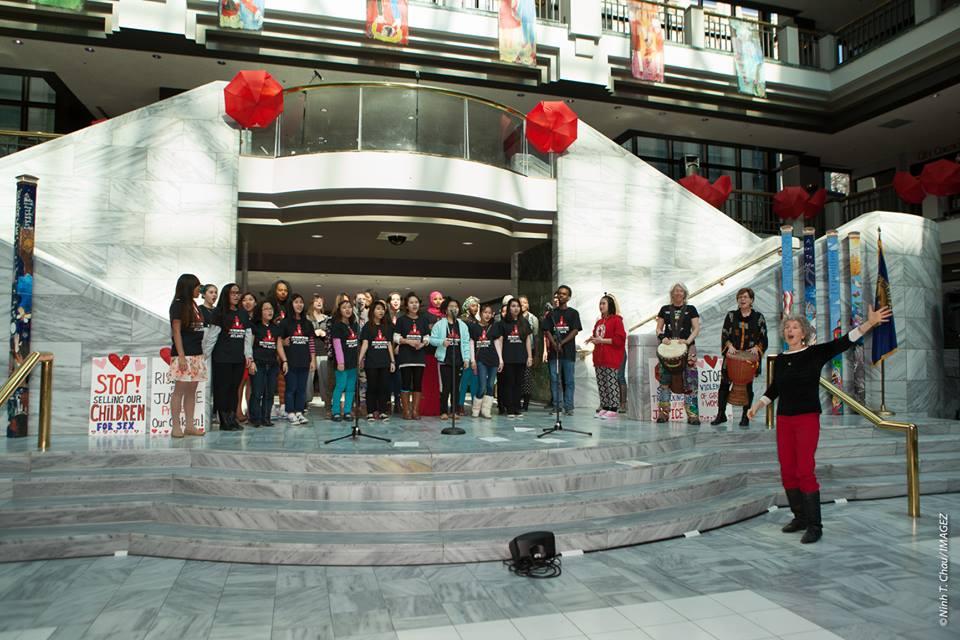 GVP @ One Billion Rising 2015
