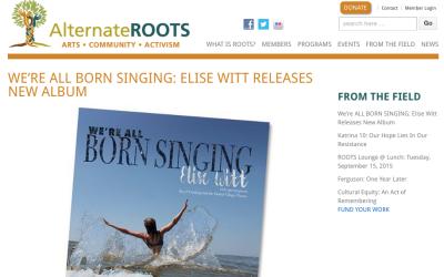Alternate ROOTS –  ELISE WITT RELEASES NEW ALBUM