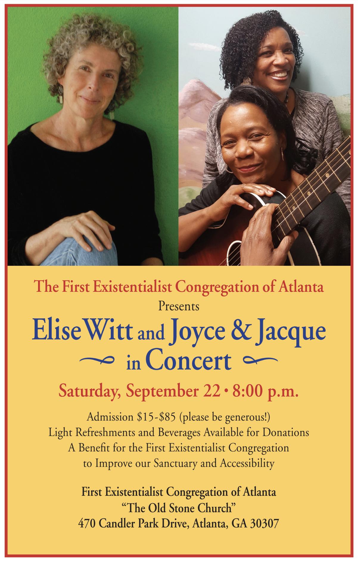 Elise Witt & Joyce and Jacque