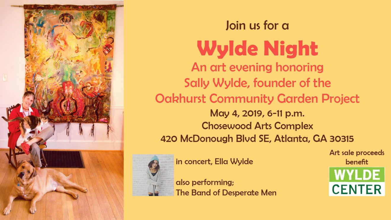 May 4 2019 Sally Wylde Art event