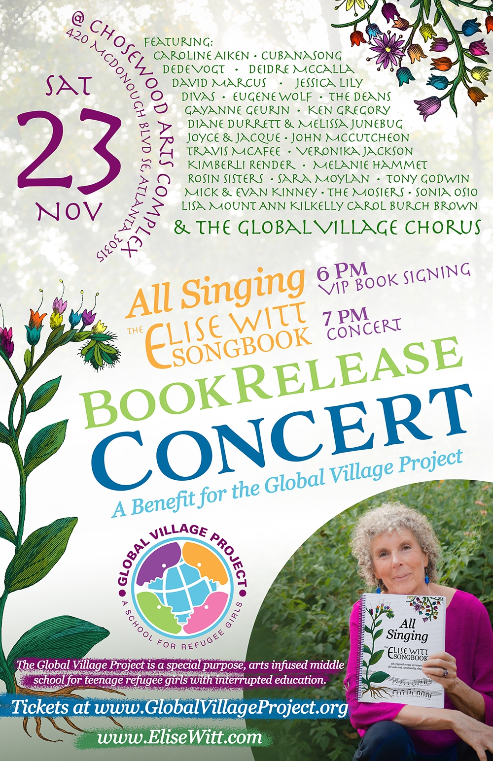 All Singing: The Elise Witt Songbook Release Concert