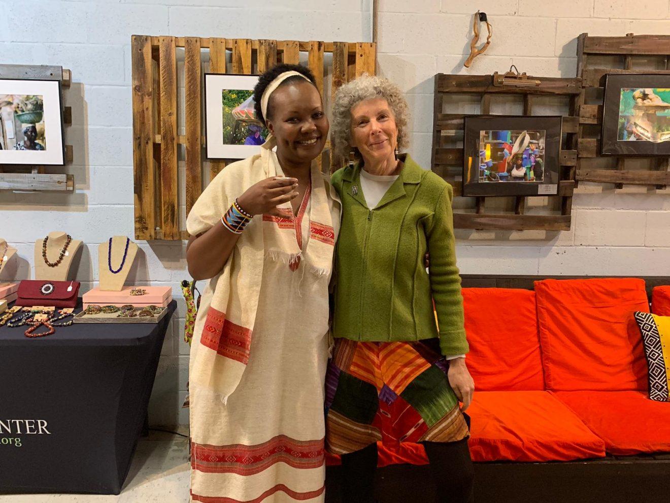 Doris Mukangu, E Coffee Ceremony