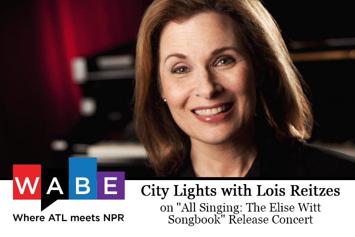 "WABE with Elise Witt on ""All Singing: The Elise Witt Songbook"""