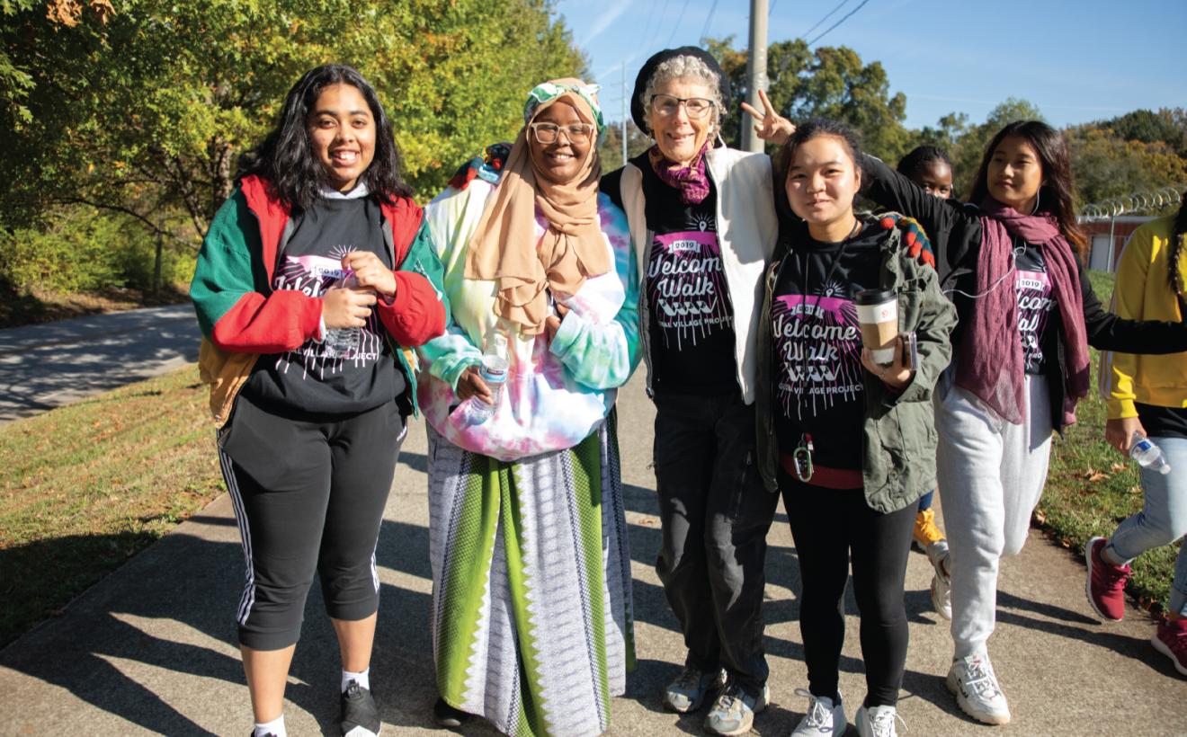 Welcome Walk w:Nasteho, Aeley, Mu Doe, 2019