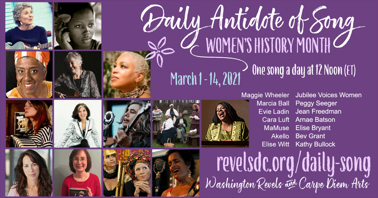 Daily Antidote March Women's History