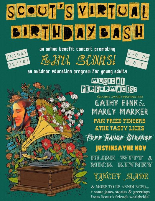 Scout Birthday Bash flyer2