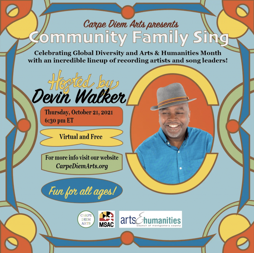Carpe Diem Arts Community Family Sing